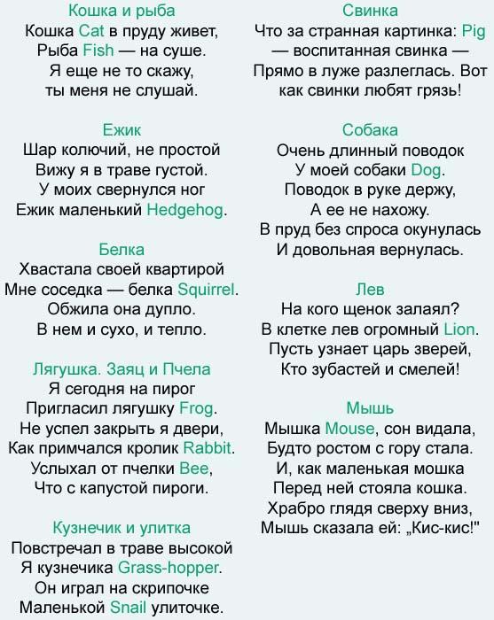 игры учить английский язык с лунтиком