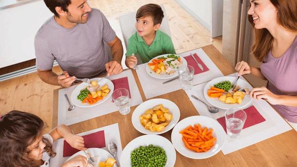 пример родителей для правильного питания у детей
