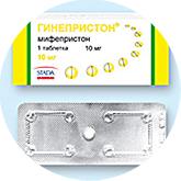 Экстренная контрацепция - Гинепристон