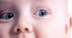 Цвет глаз младенца