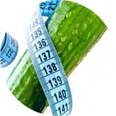 Огуречная диета меню на 7 дней